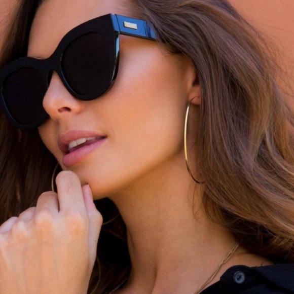 35add8fb33f le specs Accessories - Le Specs Air heart (black) cat eye sunglasses